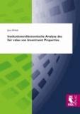 Institutionenökonomische Analyse des fair value von Investment Properties.