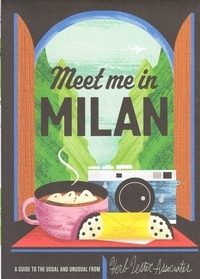 Collectif - Meet you in Milan (folded map).