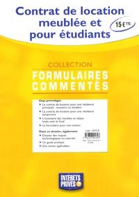 Pdf Livre Contrat De Location Meublee Et Pour Etudiants Moncoinlivresque