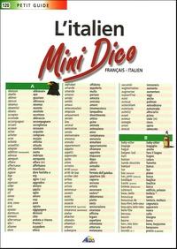 Feriasdhiver.fr L'italien Mini Dico - Français-italien Image