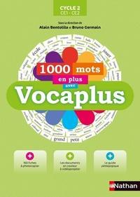 Alain Bentolila et Bruno Germain - 1000 mots en plus avec Vocaplus Cycle 2 CE1-CE2. 1 Cédérom