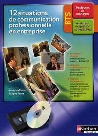 12 situations de communication professionnelle en entreprise BTS assistant - Avec 1 cassette vidéo.pdf