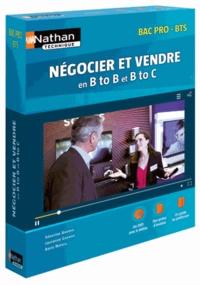 Séverine Androd et Laurence Garnier - 8 situations de négociation-vente en BtoB et BtoC Bac Pro/BTS - Coffret pédagogique. 1 DVD