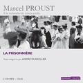 Marcel Proust - A la recherche du temps perdu Tome 5 : La prisonnière. 5 CD audio MP3