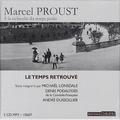 Marcel Proust - A la recherche du temps perdu Tome 7 : Le temps retrouvé. 5 CD audio MP3