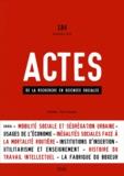 Thomas Maloutas et Xavier Zunigo - Actes de la recherche en sciences sociales N° 184, Septembre 20 : .