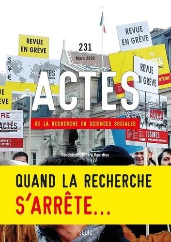 Seuil - Actes de la recherche en sciences sociales N° 231-232, mars 202 : Affinités électorales.