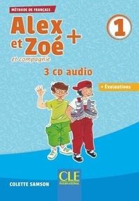 Colette Samson - Alex et Zoé + et compagnie 1. 3 CD audio