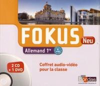 Laetitia Bally - Allemand 1re B1-B2 Fokus Neu. 1 DVD + 2 CD audio