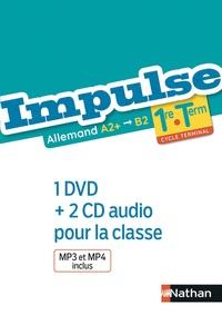 Nicole Thiery-Chastel et Catherine Torres-Spartalis - Allemand 1re-Tle A2+>B2 - Avec 1 DVD et 2 CD audio.