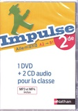 Catherine Torres-Spartalis et Caroline Moriniaux - Allemand 2de A2>B1 Impulse. 1 DVD + 2 CD audio