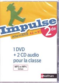 Catherine Torres-Spartalis et Caroline Moriniaux - Allemand 2de A2>B1 Impulse. 1 DVD + 2 CD audio