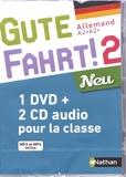 Jean-Pierre Bernardy - Allemand A2>A2+ Gute Fahrt! 2 Neu. 1 DVD + 2 CD audio