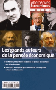 Christian Chavagneux - Alternatives économiques Hors-série poche N° : Les grands auteurs de la pensée économique.
