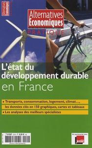 Pascal Canfin - Alternatives économiques Hors-série pratique : L'état du développement durable en France.