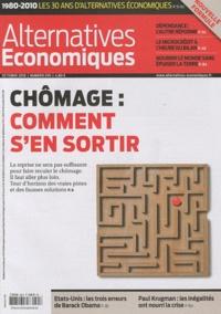 Philippe Frémeaux - Alternatives économiques N° 295, Octobre 2010 : Chômage : comment s'en sortir.