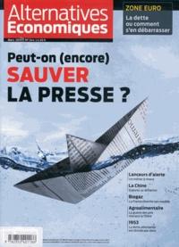 Philippe Frémeaux - Alternatives économiques N° 344/mars 2015 : Peut-on encore sauver la presse ?.