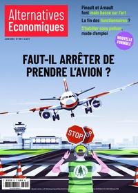 Marc Chevallier - Alternatives économiques N° 391, juin 2019 : Faut-il arrêter de prendre l'avion ?.