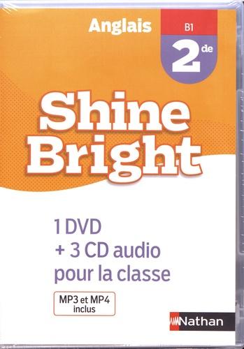 Corinne Escales - Anglais 2de B1 Shine Bright. 1 DVD + 3 CD audio