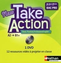 Daniel Bonnet-Piron - Anglais 2e/1e/Tle New Take Action A2/B1+. 1 DVD