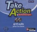 Nathan Technique - Anglais Bac Pro Take Action - 4 CD-audio.