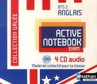 Nathan - Anglais BTS 2 Active Book Exam. 4 CD audio