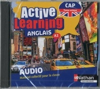 Nathan - Anglais CAP A2 Tome unique Active learning. 1 CD audio MP3