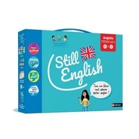 Sophie Martinez et Patrick Moore - Anglais cycles 3 et 4 Still English - 799 cartes et fiches, 36 jetons, 1 plateau de jeu photocopiable, 6 dés, 1 livret d'accompagnement pédagogique.