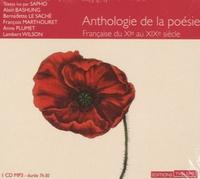 Sapho - Anthologie de la poésie française du XIe au XIXe siècle. 1 CD audio MP3