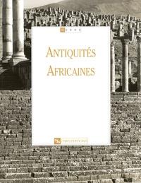 Georges Souville et Jean-Paul Morel - Antiquités africaines N° 42/2006 : .