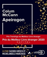 Colum McCann - Apeirogon. 2 CD audio MP3
