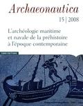 Robert Roman et Marie-Brigitte Carre - Archaeonautica N° 15/2008 : Les épaves à dolia.