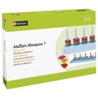 Nathan matériel éducatif - Atelier Abaques 1 PS pour 2 enfants.
