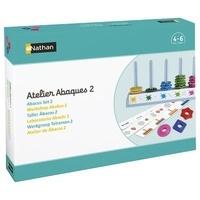 Nathan matériel éducatif - Atelier Abaques 2 MS/GS pour 2 enfants.