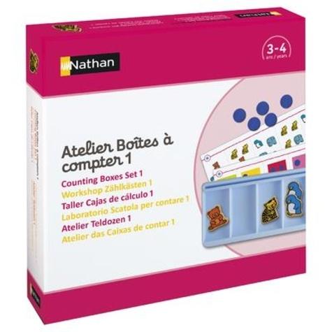 Nathan - Atelier Boîtes à compter 1.