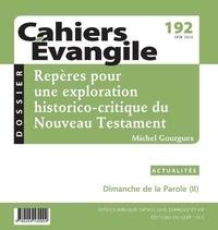 Cerf - Cahiers Evangile N° 192 : .