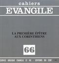 Maurice Carrez - Cahiers Evangile N° 66 : La première épître aux Corinthiens.