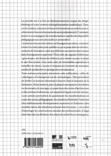 Cahiers Ramau N° 9 L'architecture et l'urbanisme. Au miroir des formations