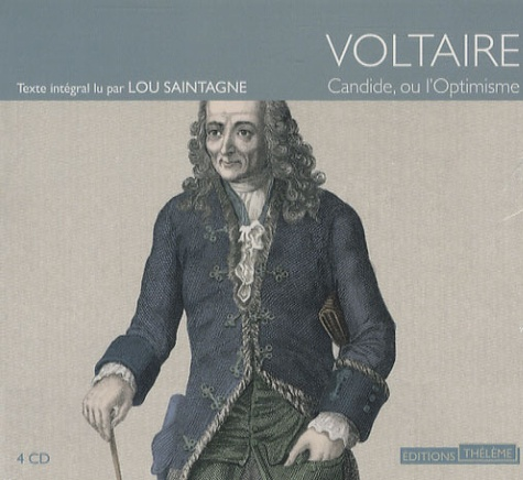 Candide ou l'optimisme  avec 4 CD audio