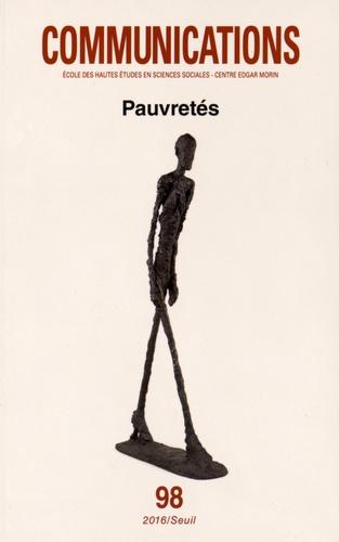 Nicolas Duvoux et Jacques Rodriguez - Communications N° 98 : Pauvretés.