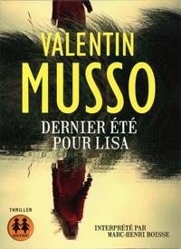 Valentin Musso - Dernier été pour Lisa. 1 CD audio MP3