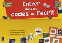 Agnès Perrin et Sylvie Girard - Entrer dans les codes de l'écrit GS - A l'école des albums.
