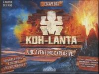 Dragon d'or - Escape box Koh-Lanta - Une aventure explosive avec 1 livret, 40 cartes, 1 bande-son et 1 poster.