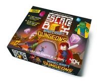 Alain T. Puysségur - Escape Box Minecraft Dungeons - Avec 1 livret, 40 cartes, 1 bande-son et 1 poster.