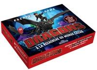 DreamWorks et Gauthier Wendling - Escape game Dragons - A la recherche du monde caché - Avec une bande-son de 45 minutes pour vous plonger dans l'ambiance !.