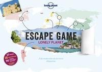 Vincent Raffaitin - Escape game Lonely Planet - A la recherche de la terre disparue. Avec 64 cartes, 16 enveloppes, 1 planisphère.