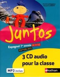 Edouard Clemente - Espagnol 1re année A1/A2 Juntos. 3 CD audio