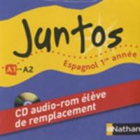 Edouard Clemente - Espagnol 1re année A1 Juntos - CD audio-rom élève de remplacement.