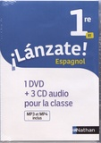 Edouard Clemente et Monique Laffite - Espagnol 1re B1 Lanzate!. 1 DVD + 3 CD audio