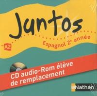 Edouard Clemente - Espagnol 2e année A2 Juntos - CD-audio ROM de remplacement élève.